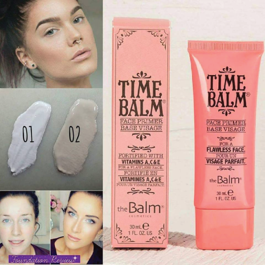 TheBalm - TimeBalm Face Primer -30ml/1oz Freeman Feeling Beautiful Pore Cleansing Mask, Sparkling Pear 5 oz (Pack of 4)